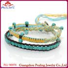 Hot selling 2014 wrap bracelets humanity bracelet leather