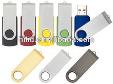 Plastic swivel USB flash drive,cheapest swivel USB drive