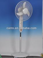 1350RPM motor dc 12v floor standing fan solar dc 3 in 1 standing fan