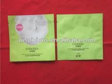 Silk Mask foil plastic ziplock bag compound bag PET bag