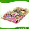 Promotional kids playground indoor with EVA flooring cowboy toy