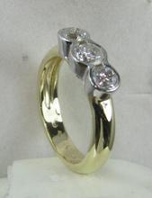 Solid Gold 14K jewelry diamonds jewellery ring