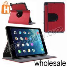 Smart Wake Up/Sleep Fabric Texture Stand Flip Leather Case for iPad Mini 2 Retina