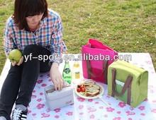 Custom picnic mat and bag