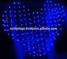 All LEDs On Frame Resistant Velvet Star Curtain-27/high brightness