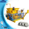 Automatique des cendres volantes machine bloc faisant qmy6-25 petite industrie des machines en inde
