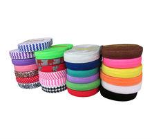 Wholesale FOE Fold Over Elastic Ribbon for DIY Hair Ties Hair Band Hair Accessories