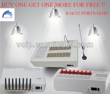 Buy one, get one more free,GoIP 32 support goip voip providers international
