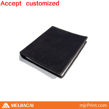 2014 Top quality factory price customized leather notebook