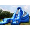 2014 inflatable crokscrew water slides china 22ft