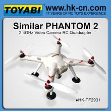 dji phantom visão 2 rc quadcopter drone 1080p gps câmera uav rtf espião