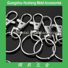 Luxury Metal Bag Accessories Key Ring Snap Hook Bags Metal Buckle Fashion Hnadbag Buckle