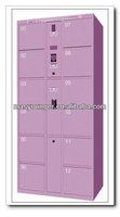 Hot sell products stainless steel supermarket electionic storage locker/wardrobe/cabinet,barcode storage locker