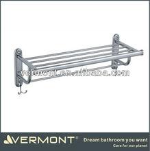 Bathroom Accessories High Quality double bath towel rack, wall mount bathroom wall shelf