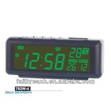 Cheap CE led auto flip calendar clock