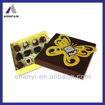 Mountain Top ! White Wholesale Custom Logo Emboss Magnetic Closure Gift Box