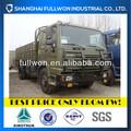 sinotruk awd 290hp 4x4 camión de carga las dimensiones