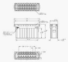 178289 - 8 AMP connecteur réceptacle logements dynamique 20 p electrical equipment