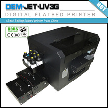 2014 good quality 1900 printhead message in bottle uv printing machine /printer