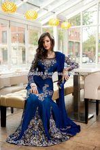 dark blue classic wear kaftan