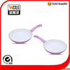 Aluminum silicon handle ceramic coating fry pan