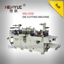 automatic flat bed sticker die cutting machine
