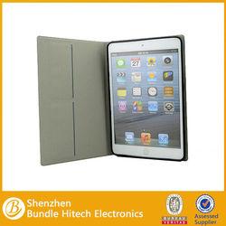 pu case for ipad mini 2 \ leather cover for ipad mini 2