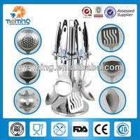 7pcs wholesale stainless steel kitchen utensil, names of kitchen utensils