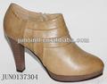 2014 senhoras de salto alto mulheres rodada dedo inverno boot, populares mais recente botas de tornozelo sapatos femininos