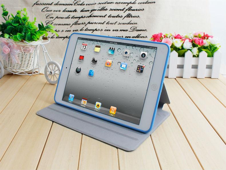 la sublimación de rotary 360 mini ordenador portátil de cuero tablet pc caso de ipad de aire