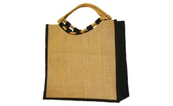 Popular Wholesale jute shopping bag /Gunny Tote Bag/Sack Carry Bag