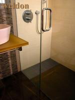 side outlet shower drain