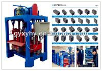 Hongying promoted Hongying QMJ4-35B concrete plan hollow block machine