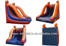 newly shoot game inflatable basketball game with customized design (giant inflatable sports games)