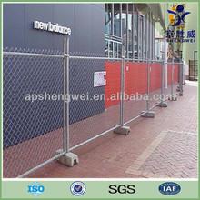 Easy install temporary fence panel