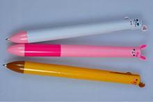 Cute Animal Shaped Plastic Pen Customized Pen