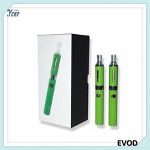 Newest wholesale 3.3~4.8V voltage adjustable evod twist battery colorful ego battery evod twist
