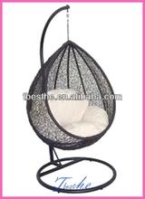 acrylic hanging bubble chair