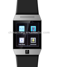 Fashion Quad band Touch Screen Bluetooth Cell Phone Watch wrist watch gps tracking device