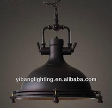 2014 hot vintage pendant light /lighting YP817 vintage black
