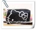 Rolling caso cosmético/caso cosméticos olá kitty