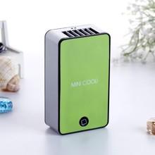New product mini battery small plastic fan