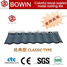 Asphalt stainless steel metal roofing shingles/tiles/sheet