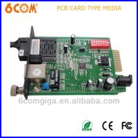 1000base 40KM PCB media converter