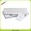 Slim Universal White Wireless Bluetooth Keyboard
