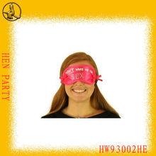 Pink Wake Me Up Eyeshade Hens Night Party Supplies