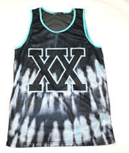 CUSTOM XX LETTERING TANK TOP / SUBLIMATION URBAN/ STREETWEAR WEAR FASHION Tank top