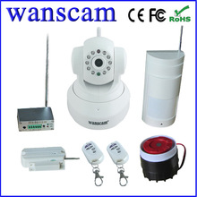 Wanscam JW0015 Indoor Alarm P2P TF Card Wireless Wifi Security Camera Set