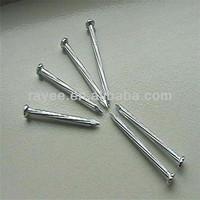 Colored Galvanized Cement nail/Concrete nail - 45# Steel