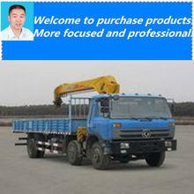 10 ton sany truck crane bucket truck crane